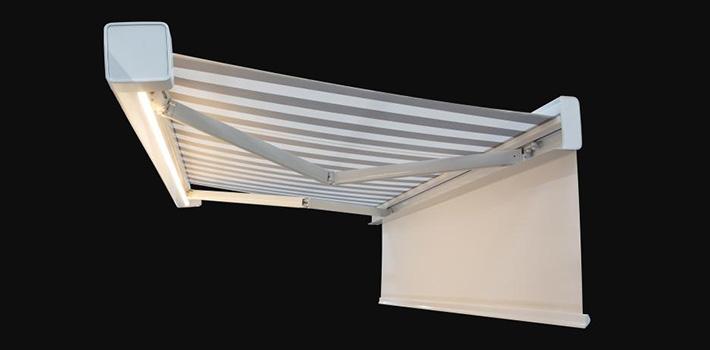 zonnescherm erhardt q met led verlichting slider vincent zonwering