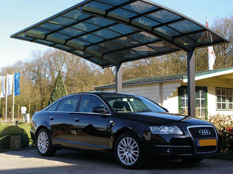 Overkapping Voor Auto : Carports en skycovers vincent zonwering